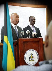 Acting Parliamentary-Commissioner-PS-Charles Albury Press-Conf-